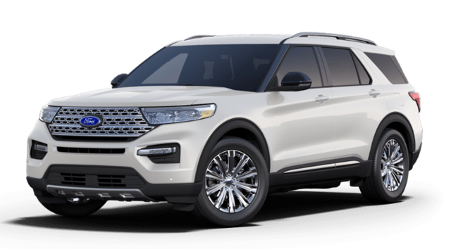 New 2020 Ford Explorer Limited Wagon 1FMSK8FH5LGB29129 in Devils Lake, ND